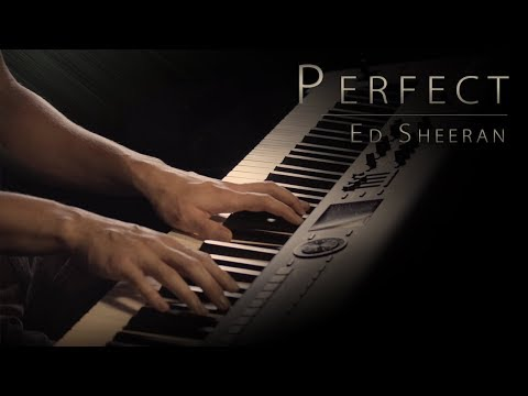 "Ed Sheeran - ""Perfect"" Piano Cover \\ Jacob's Piano"