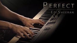 "Download Lagu Ed Sheeran - ""Perfect"" Piano Cover \\ Jacob's Piano Mp3"