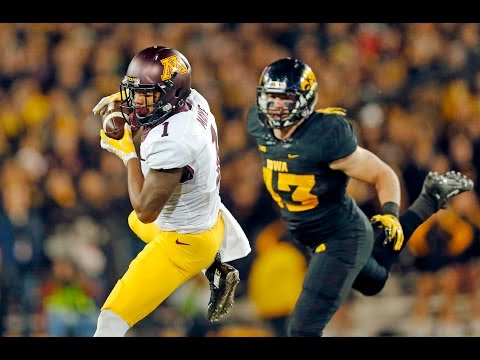 KJ Maye: 2015 Minnesota Gophers Football Highlights