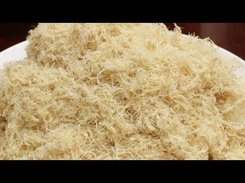 Bí quyết làm chà bông heo (ruốc) sợi nhỏ, dài, thơm, sấy khô nhanh