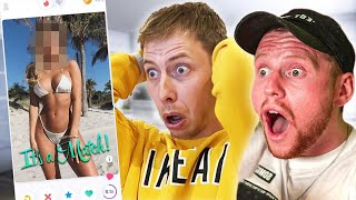 I Was Behzinga on Tinder for 24 Hours!