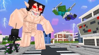 Monster School Zombie and Angry TiTan Comeback - Minecraft Animation