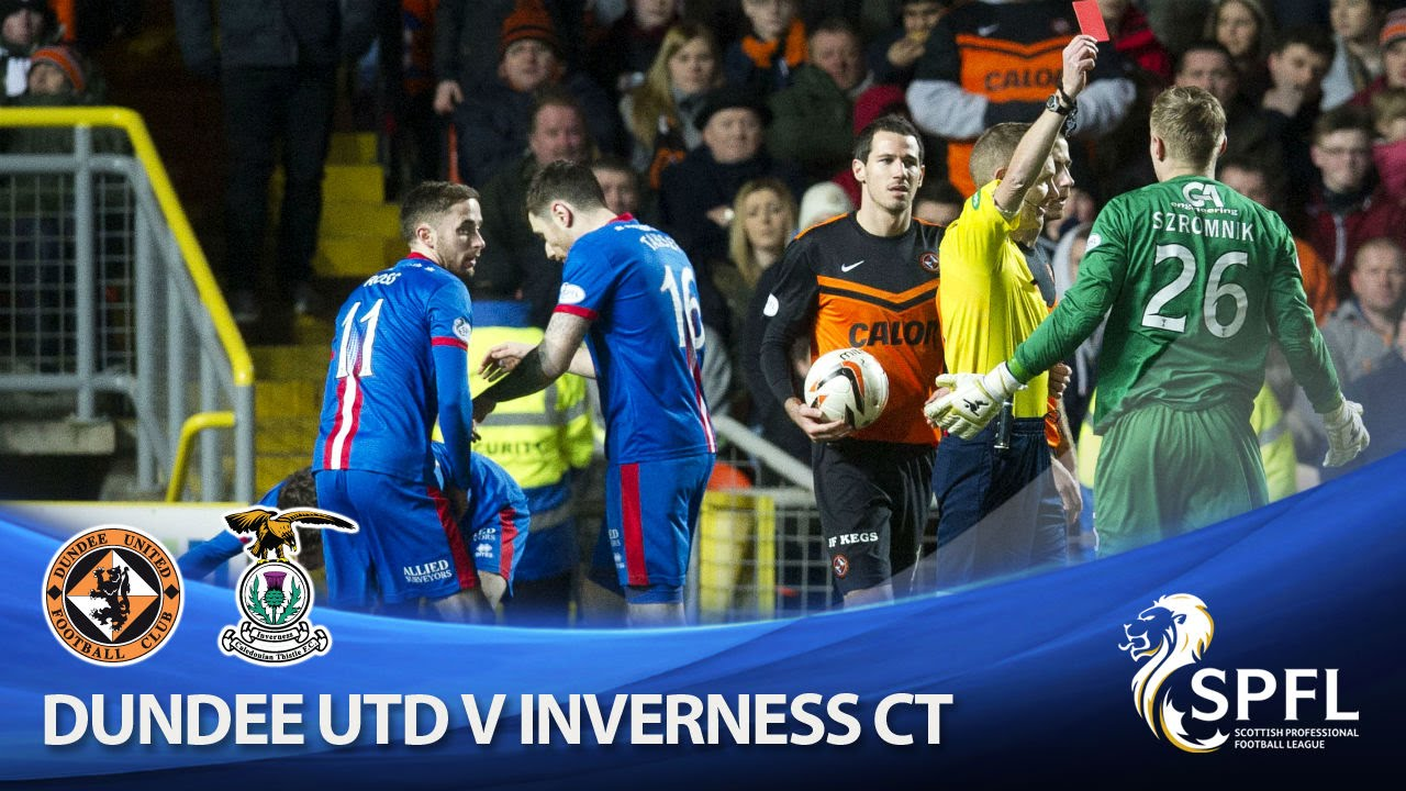 Dundee United 1-1 Inverness