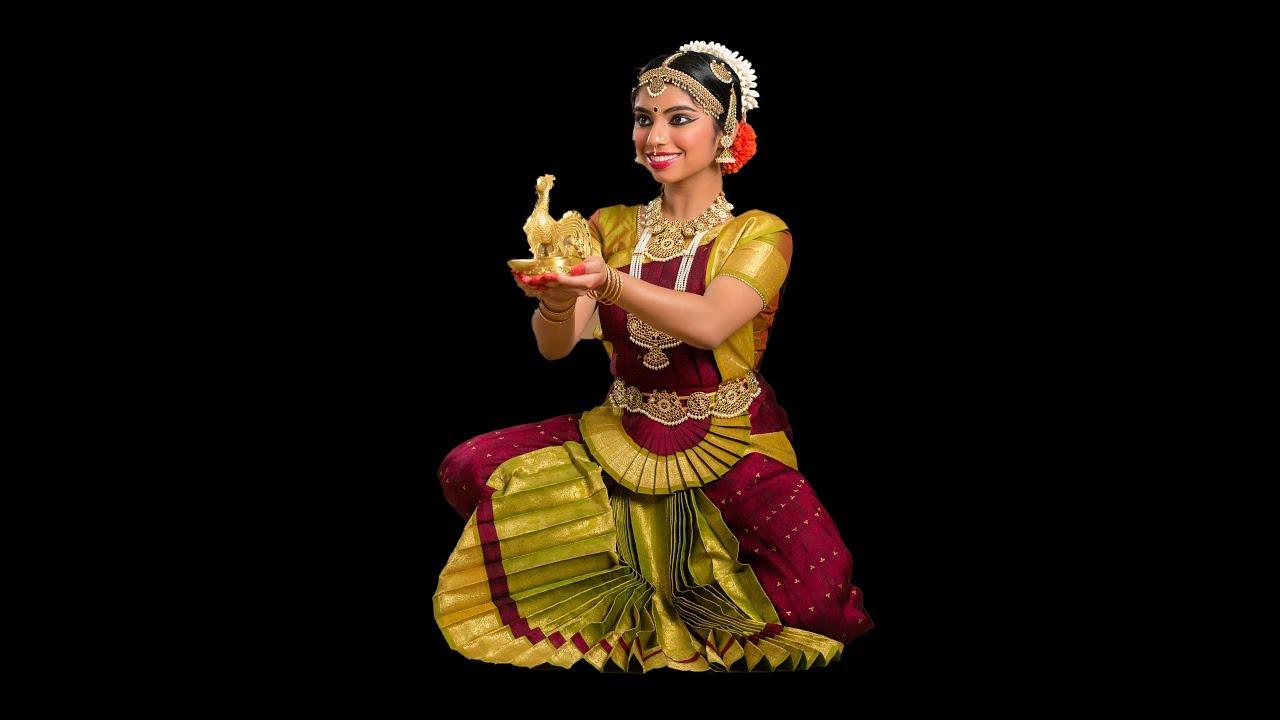Shruthi Saravanans Bharathanatya Arangetram Invitation YouTube