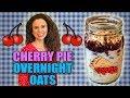 Cherry Pie Overnight Oats!