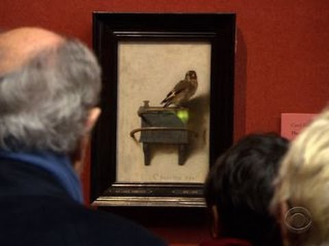 """""""The Goldfinch"""" painting drawing big crowds since Donna Tartt book release"""