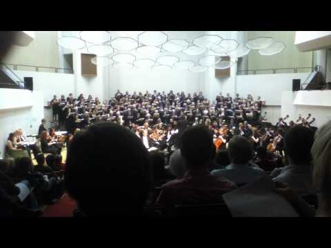 "UW Choral Union in Mendelssohn's  ""Elijah"" ""He Watching Over Israel"""