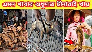 চিনের মেয়েরা কি খায়।। না দেখলে বিশ্বাস হবেনা।। Amazing facts bangla || Mayajaal video।।Rohosso Tube