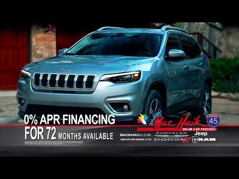 Mac Haik Dodge Chrysler Jeep Ram | 0% APR Financing for 72 Months Available!