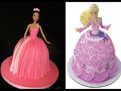 Download Barbie Cake Images : [Full-Download] Barbie-doll-cake-how-to-decorate-a ...