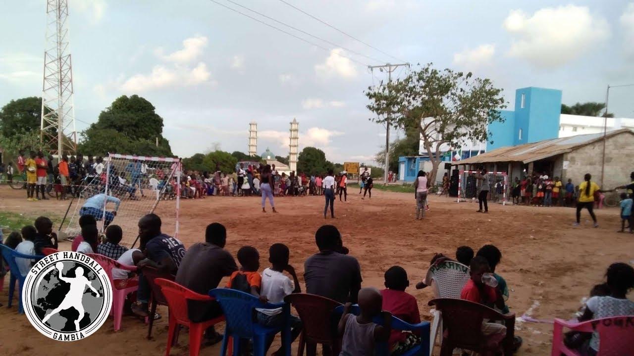 Download Street Handball Gambia Project Launched in Batokunku Village, Banjul