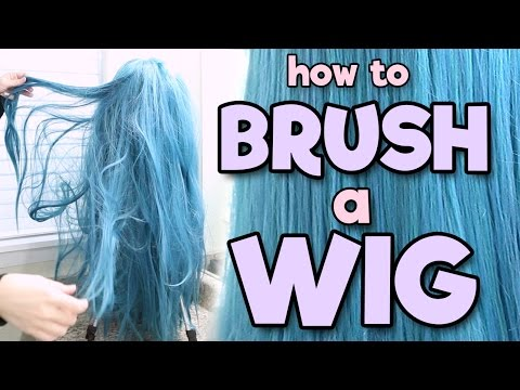 HOW TO BRUSH A WIG | Alexa's Wig Series #2