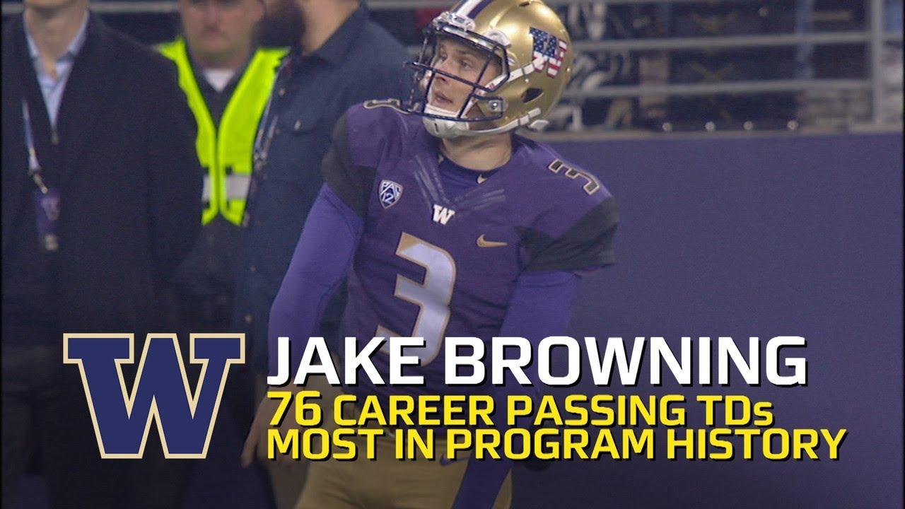 Jake Browning Washington Huskies Football Jersey - Purple