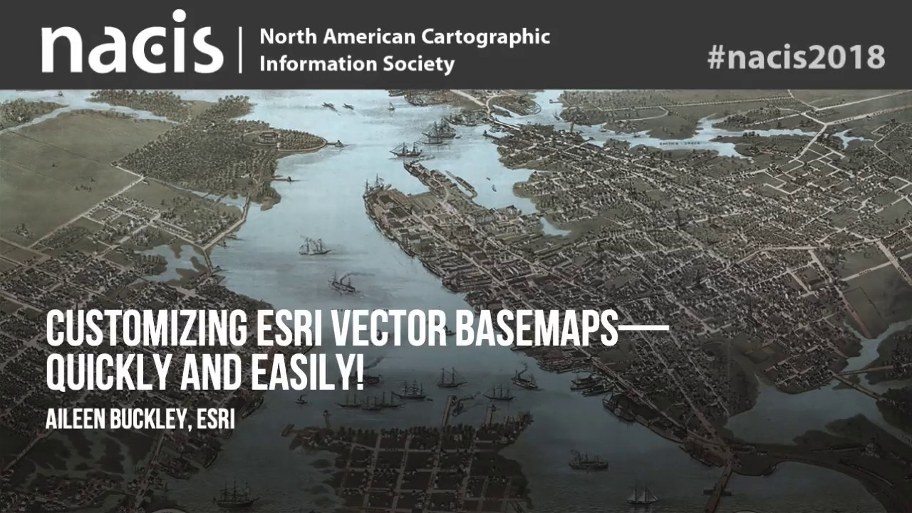 Customizing Esri Vector Basemaps—Quickly and Easily!