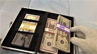 $17,000 Cash in my Vaultz Locking Pencil Box