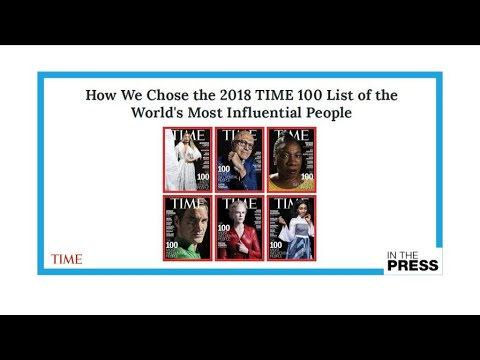فرانس 24:A reflection of our times: More women, more young people in Time's 100 list for 2018