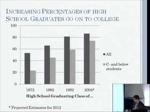 Mass Higher Education and the Dropout Problem - Paul Attewell