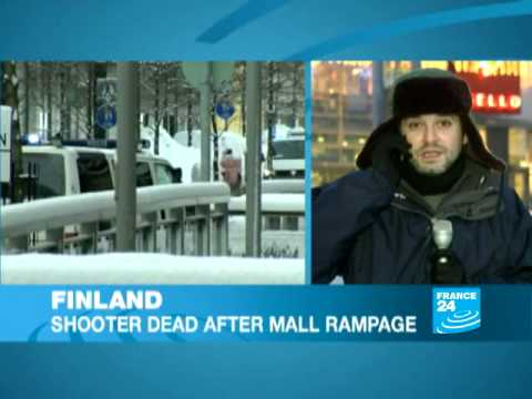 Exclusive - Finland: Mall Shooting Suspect Found Dead