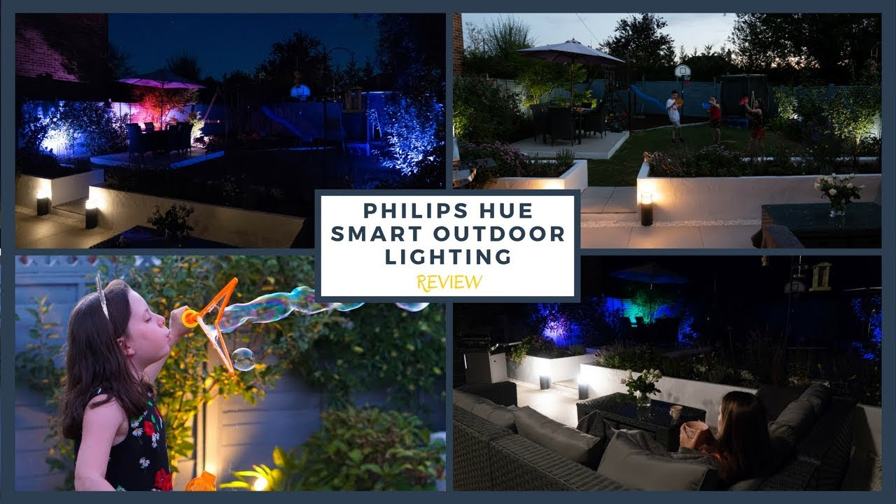Philips Hue Outdoor Smart Lighting Review Ad