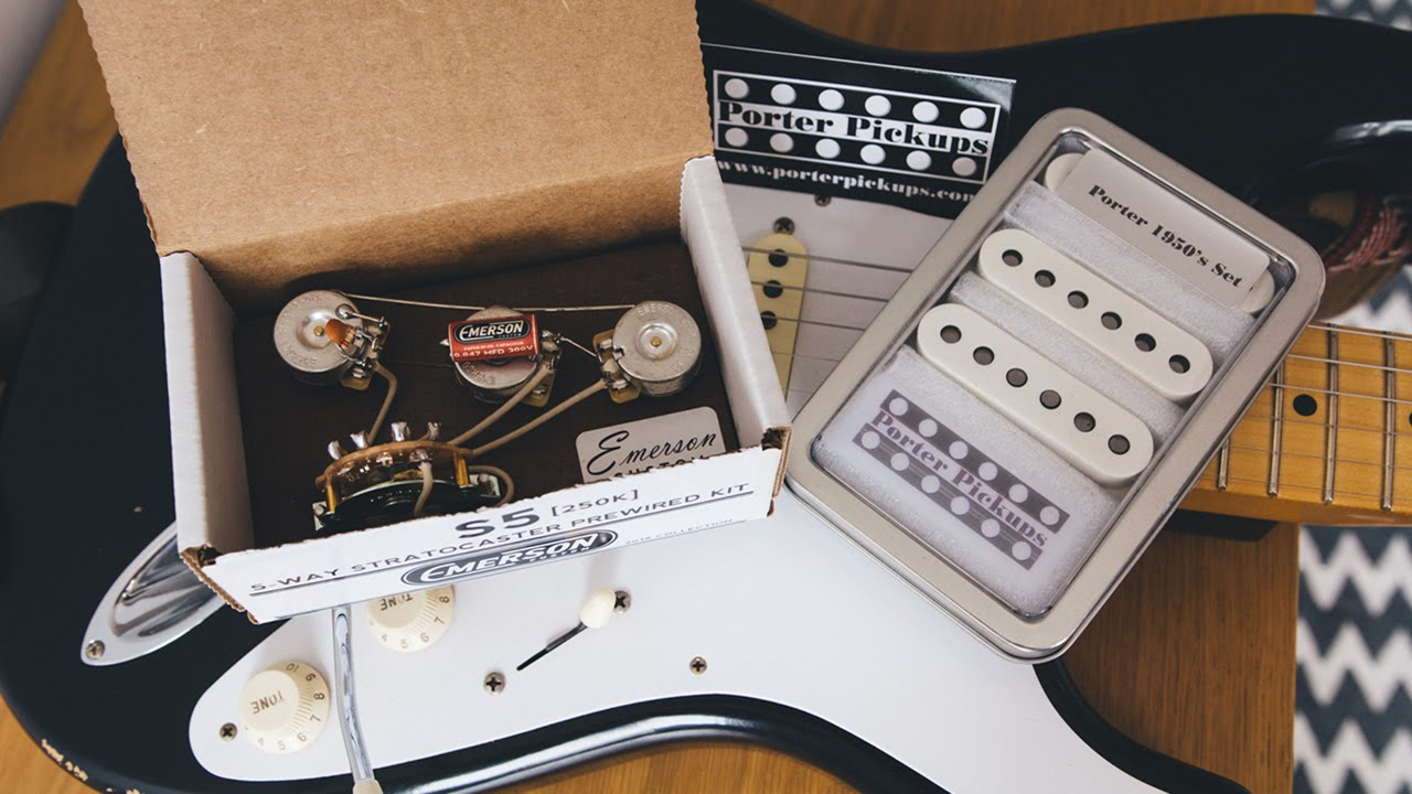 installing porter pickups and emerson custom pre wired kit timelapse footage [ 1280 x 720 Pixel ]