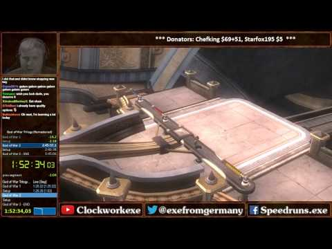 God of War Trilogy Speedrun in 3:45:02