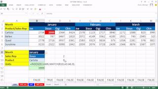 Excel Magic Trick 1086: 3 Way Lookup Formula & Conditional Formatting, Date Criteria Mismatch