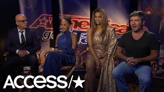 'AGT': Mel B, Howie Mandel & Tyra Banks Hilariously Roast Simon Cowell Over His Fast Food Preference