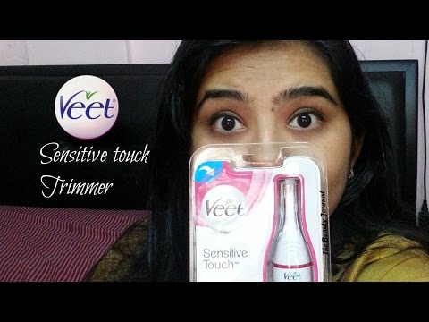 Veet Sensitive Touch Electric Trimmer Review | India | The Beauty Journal