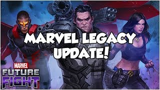 MARVEL LEGACY UPDATE! (3.7 Patch Notes) - Marvel Future Fight