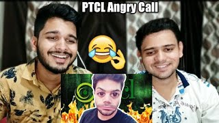PTCL Angry Call | Ducky Bhai | Indian Reaction.