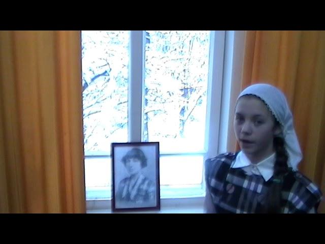 Изображение предпросмотра прочтения – ЕлизаветаБачурина читает произведение «Как правая и левая рука» М.И.Цветаевой
