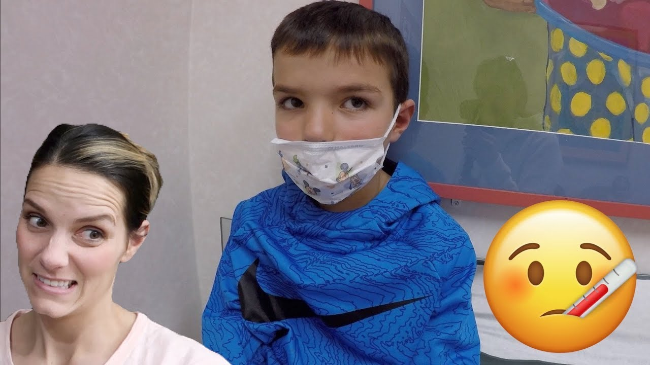 🏥 TOOK HIM TO THE DOCTOR 👨⚕️ DOES HE HAVE THE FLU? 😷