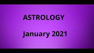 Astrology in January 2021