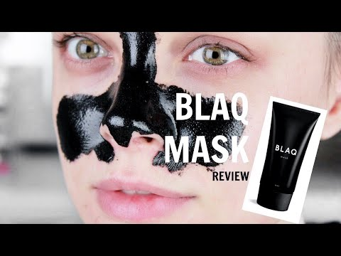 BLAQ MASK REVIEW | CINDYLOUBINDI