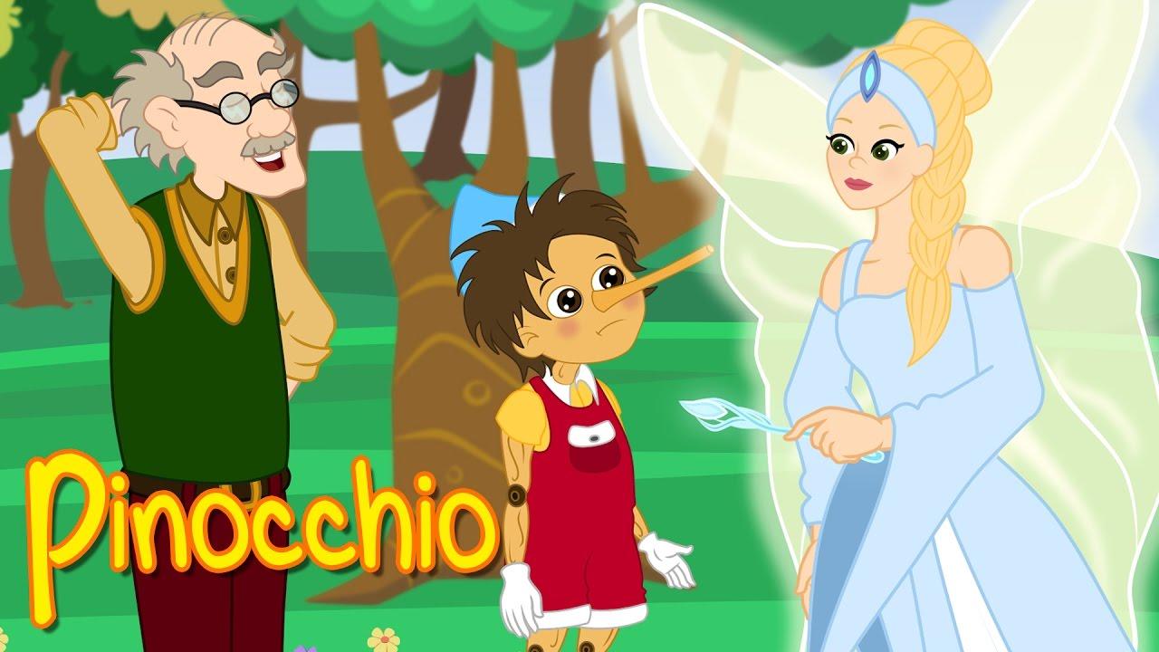 Dessin Animé Complet pinocchio - dessin animé complet en français - conte pour enfants