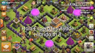 Clash of Clans - Ataque Hibrido by: Reixor