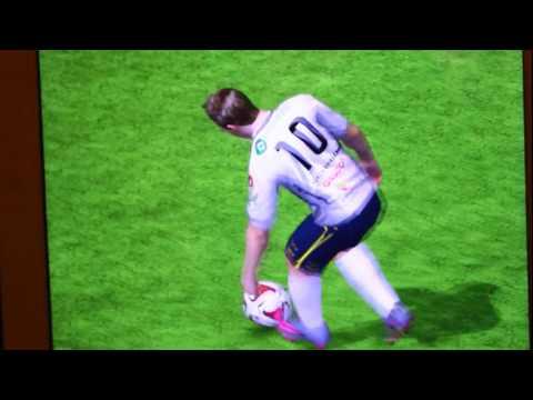Игра с реальными игроками (FIFA 15)