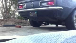 67 Camaro LED taillight conversion