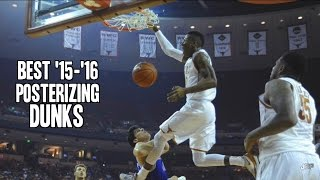 Best Posterizing Dunks of the 2015-2016 College Basketball Season ᴴᴰ