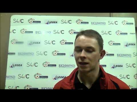 Afan Lido 2-2 Newtown Craig Williams Post match interview