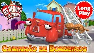 Os Heróis da Cidade - Caminhão de Bombeiros - Sem Parar! Longa metragem