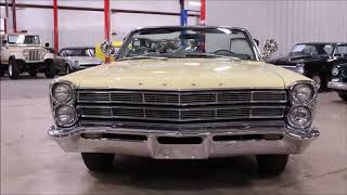 1967 Ford Galaxie yellow