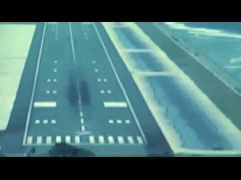 Air Marshall Dash-8 Aircraft Approaching Majuro Airport for Landing…