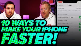 10 Tips To Spęed Up Your iPhone! How To Fix A Slow iPhone [2021]