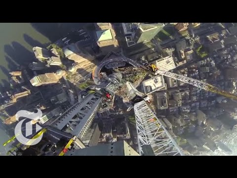 One World Trade Center: Spire Time Lapse Video - 2013 | The New York Times