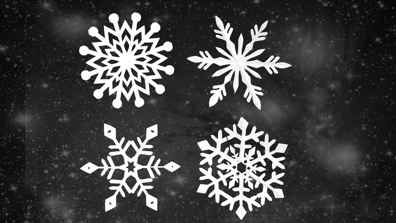diy paper snowflakes craft for christmas frozen theme decor ideas