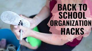 Back to school ORGANIZATION hacks and ideas!