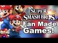 Top 3 Super Smash Bros Fan Made Games