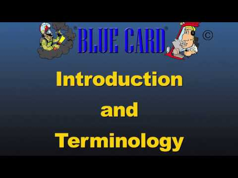 HFD - Blue Card Introduction and Terminology CE