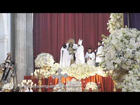 Acto de Consagración Virgen de Dolores, Templo de La Merced